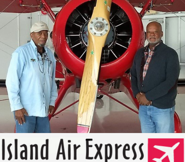 Morris and Ron Jarmon Founders of Island Air Express